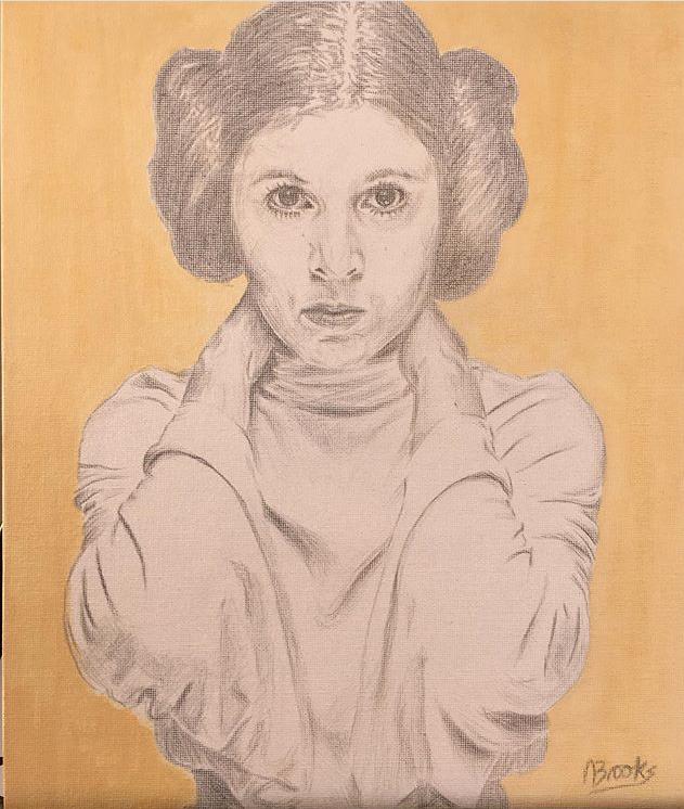 Leia silverpoint